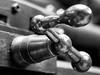 ...strani macchinari ... (marcomandini) Tags: trento artigiano fabbro ferro macchinari officina