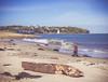 On the beach, St Helen's, Isle of Wight. (Jonathan Saull) Tags: isleofwight sthelens olympusomdem1 olympusmzuiko1240mmedf28 lightroom englishcoast coastalscene beachhutssthelensisleofwight beach autumn
