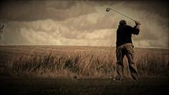 Afternoon Tee (John A. McCrae) Tags: golfcourse golf alberta albertabound paintedeffect painterly prairies