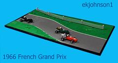 French Grand Prix 1966 (ekjohnson1) Tags: lego moc f1 grand prix france ferrari brick columbia universe