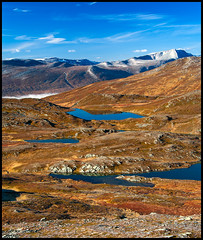 Skaret (Tommy Roenningen) Tags: oppdal skaret fjell fjelltur mountain mountains water autumn fall lakes lake snow norway norge colorful sky ruby5 ruby10