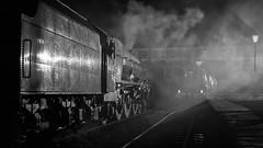 MRC2017-83 (Dreaming of Steam) Tags: 6233 46203 46233 duchess duchessofsutherland heritage heritagerailways lms midlandrailwaycentre princesscoronation princesscoronationclass princessmargaretrose princessroyalclass railway stainer steam steamengine sutherland train vintage engine locomotive railroad smoke steamlocomotive