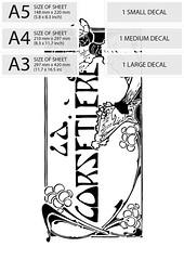 water-decal-print-transfer_pret-porter_template_plus (bigbitestudio) Tags: print water decal vintage diy black white graphics retro printable clip art designs decorating