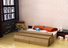 Cool, cloudy, cozy... Evening loft (FrostNovejkee) Tags: lego room bed loft interior design
