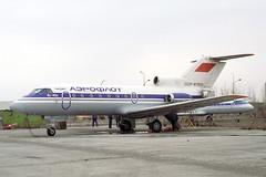 CCCP-87933 Yakovlev Yak-40 Aeroflot (pslg05896) Tags: akx uatt aktyubinsk aktobe kazakhstan cccp87933 yakovlev yak40 aeroflot