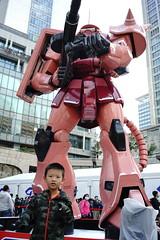 DSC01816 (pang yu liu) Tags: 2017 oct 10 十月 百貨公司 統一 時代 鋼彈 gundam 台北 taipei 東區 展覽 model 模型 toy 玩具