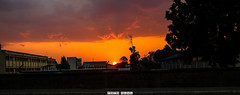 Sunset in Antsirabe (fotochut) Tags: sky ciel sun soleil sunset street madagascar