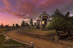 Happy Halloween! (Laura Macky) Tags: halloween cemetery mountainviewcemetery oakland graveyard lightroom landscape