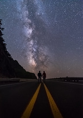 Sharing the View (Mike_Y_Wong) Tags: usa oregon coast oregoncoast thorswell milkyway yachats highway101 astro astrophotography astrolandscape nightsky nightscape longexposure stars