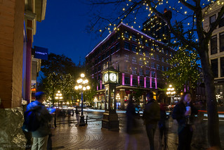 Gastown at blue hour