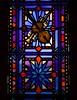 Violin Oboe and Sheet Music Stained Glass at St. Michael the Archangel (geerlingguy) Tags: jeff geerling stl catholicstl catholic parish saint michael archangel church st louis