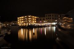 Reflecting on nights activities (Yogi's dad) Tags: apg chania crete greece harbour lights longexposure nightime projectofthemonth sea ships water