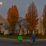 Trick or Treating Under a Bright Moon thumbnail
