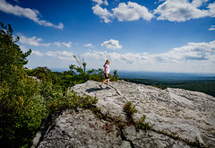 Little Explorer (allie.hendricks.photography) Tags: cragsmoor season nature people newyork month weather september world summer 2017 bearhill tree clouds camera year family unitedstates rocks nikond5100 plant claire