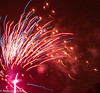 Fireworks 2017 (M C Smith) Tags: abstract fireworks red blue white bright smoke pink