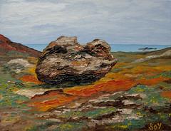 """Cap de Creus. Paisatge"". (svet.llum) Tags: pintura cuadro arte paisaje capdecreus catalunya cataluña mar mediterráneo paisatge óleo"