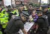 ToryConfManc17 0052 (Communist Party of Great Britain(Marxist-Leninist)) Tags: austerityprotesttoryconference 1stoct2017 manchester toryconference cpgbml lalkar proletarian greenfell housingcrisis tradeunionbill postalworkers cwu rmt pcs nut gmb disabledactivists dpac police crisisofoverproduction rulingclass nhs hri tradeunions theresamay tory labour corbyn peoplesassembly economics eu brexit socialist communist families students workers campaigners capitalism refugees welfare