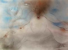 L'ÉRUPTION DU MONT BAKER (Claude Bolduc) Tags: artsingulier outsiderart artbrut visionaryart intuitiveart lowbrow surrealism mountbaker