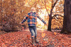 Happiness (aevo69) Tags: autumn family joyful child portrait bokeh golden brown sun people children infant fun happy andy evans andyevanscreations