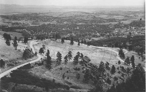 Photo - Overview of the Halfway House (1930-1950).