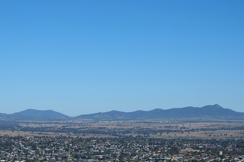 Beyond Tamworth, from Oxley Lookout