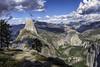 Washburn Point, Yosemite National Park (Explored) (punahou77) Tags: yosemite yosemitenationalpark yosemitevalley vernalfalls nevadafalls waterfall landscape california clouds highsierra hiking halfdome nature nikond500 punahou77 park pines nationalpark stevejordan sierras sierranevada sky