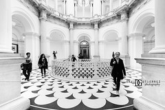 Smart Casual - Tate Britain, London, UK (davidgutierrez.co.uk) Tags: london architecture art city blackandwhite davidgutierrezphotography nikond810 nikon interior urban travel blackwhite photography people londonphotographer property smartcasual tatebritain uk tate photographer monochrome stairs bw black white blackandwhitephotography arts unitedkingdom afsnikkor1424mmf28ged 1424mm 伦敦 londyn ロンドン 런던 лондон londres londra england europe beautiful cityscape davidgutierrez capital structure britain greatbritain centrallondon ultrawideangle d810 buildings design symmetry building indoor interiors greyscale museum artmuseum cityofwestminster exhibition contemporary
