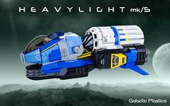 Heavy Light mk/5 (tardisblue) Tags: lego space moc spaceship heavylight