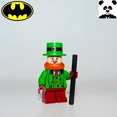 19 - Mad Hatter (Random_Panda) Tags: lego figs fig figures figure minifigs minifig minifigures minifigure purist purists character characters film films movie movies television tv comics superhero superheroes hero heroes super comic book books show shows dc villains toy batman superman wonder woman aquaman green lantern the flash rogues cartoon villain mad hatter