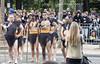 14 juillet 2016 à Paris. Guerriers maoris de Nouvelle Zélande. (louis.labbez) Tags: 14juillet 2016 bastilleday france juillet paris labbez guerrier 2017 militaire soldat soldier iledefrance fêtenationale défilé champselysées première guerre mondiale bataille 1916 australiens néozélandais torse pied lances visage lance six guerriers maoris pavé nouvellezélande tenue traditionnelle gourdin baleine os bois australien