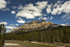 Castle Mountain (Ross Forsyth - tigerfastimagery) Tags: 2017 canda landscape mountains scenery nature castlemountain mountain castle alberta clouds