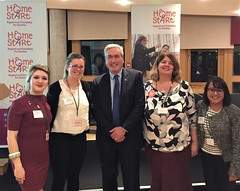 Hosting Home-Start UK Scotland parliamentary reception