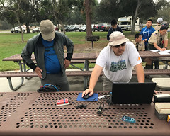 008 A Quick Lession On The E-Punch Software (saschmitz_earthlink_net) Tags: 2017 california longbeach eldorado orienteering laoc losangelesorienteeringclub losangeles losangelescounty eldoradoeastregionalpark park parks