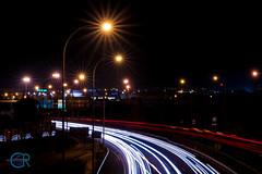 102 (Samuel Cuenca Rodríguez) Tags: luces lights puente coches car colores carretera road color night noche larga exposición long exposure