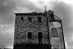 decadent ruins (dominikpatzner) Tags: building house architecture 35mm agfa apx 400 liberec praktica mtl5