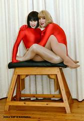 Nina_Kat_Horse_1 (Katrina _Transdoll) Tags: lycra leotards tights pantyhose transvestites trans tgirls crossdressers