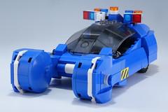 Police_Spinner_01 (kaba_and_son) Tags: blade runner police spinner lego ブレードランナー ポリススピナー ガフ レゴ デッカード bladerunner policespinner