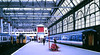 Slide 107-62 (Steve Guess) Tags: british rail nwse train station railway waterloo lambeth london england gb uk electric unit class455 455850