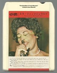 "1969 - Ella Fitzgerald / Sunshine of Your Love - japan 8 track - fita cartucho de 8 pistas (""The Brazilian 8 Track Museum"") Tags: alceu massini vintage collection jazz bossa nova"