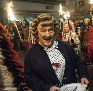 Mrs Brown - Lewes Bonfire (0317)