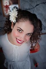 Innocence (Giovanni Malfattore) Tags: innocence innocenza giulia model modella smile sorriso creepy monsters sony ilcea7 mirror specchio knife coltello blood sangue sonysti