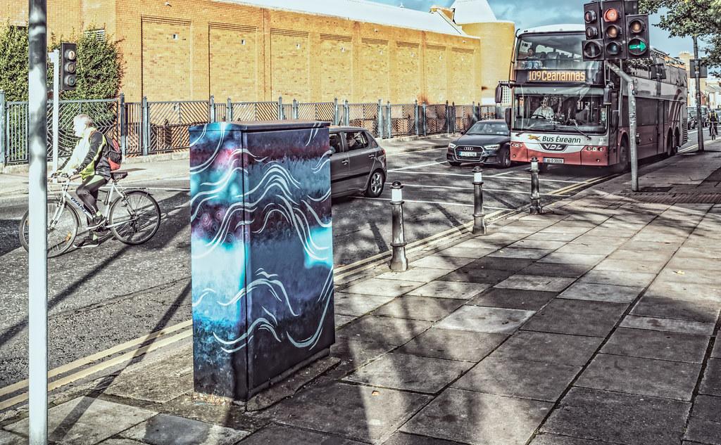 PAINT A BOX STREET ART ON BERKELEY ROAD IN DUBLIN [DUBLIN CANVAS PROGRAMME 2017]-132988