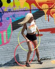Hula Hoop Dancer, Bushwick, Brooklyn, New York City (jag9889) Tags: 2017 20170615 brooklyn bushwick dance dancer dancing exercise girl graffiti hulahoop kingscounty mural ny nyc newyork newyorkcity outdoor painting performance streetart tagging tattoos usa unitedstates unitedstatesofamerica wall weird woman jag9889 us