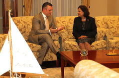 "PM-Schotte-with-PM-of-Trinidad-&-Tobago-Kamla-Persad_001 • <a style=""font-size:0.8em;"" href=""http://www.flickr.com/photos/137313818@N05/36823451844/"" target=""_blank"">View on Flickr</a>"