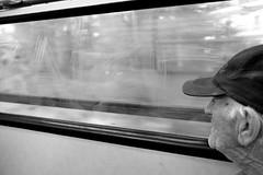 Tram (gergelytakacs) Tags: tram elderly old man public transport vandalism window graffiti travelathens greece greek αθήνα athína ελλάδαstreetphotography streetphotography urbanphotography streetphoto urbanphoto unposed streetscape urban city photo streetphotographer streetphotos fotografíacalle fotografíacallejera calle photosderue photographiederue fotografiauliczna pouličnáfotografia fotografiadistrada pouličnífotografie utcafotó strasenfotografie уличнаяфотография צילוםרחוב stranger documentary people streets documenting publicspace candidblackandwhite bwmonochrome blackandwhite blackwhite blancoynegro blanco negro noiretblanccompact digital fuji fujifilm x20 xseries x series 20 fujifilmxseries fujifilmx20 fujix20