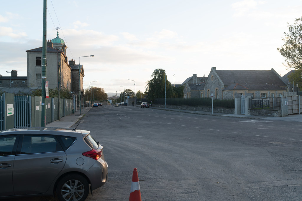 TODAY I TRIED TO LOCATE THE NEW GRANGEGORMAN TRAM STOP [I COULD NOT FIND THE ACTUAL ENTRANCE]-133075