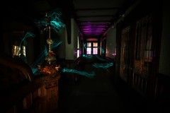 Winchester Mystery Light (Matt Straite Photography) Tags: light old house mansion creepy haunted painting wire long exposure longexposure winchester canon tripod architecture historical history color