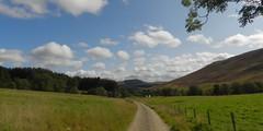 Glen Prosen Estate, Glen Prosen, Angus, Sep 2017 (allanmaciver) Tags: glen prosen estate angus scotland track clouds fields land acres trees fence allanmaciver