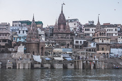 Varanasi - Ganges River - boat ghats-6