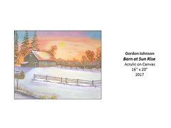 """Barn at Sun Rise • <a style=""""font-size:0.8em;"""" href=""""https://www.flickr.com/photos/124378531@N04/37067206524/"""" target=""""_blank"""">View on Flickr</a>"""